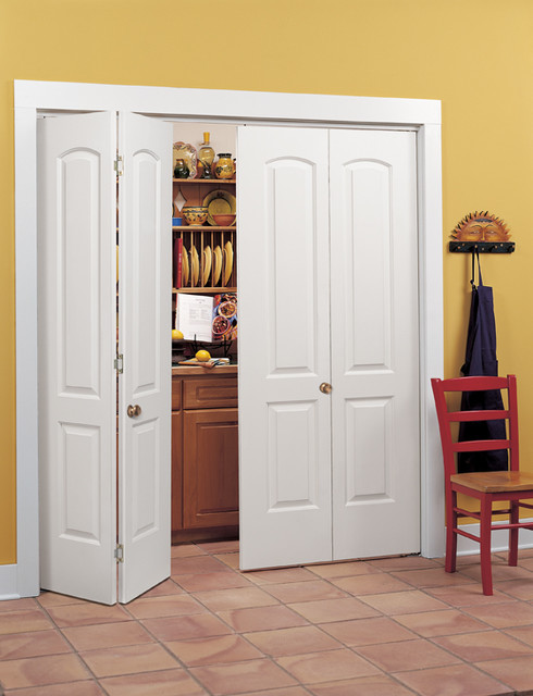 Bi fold closet door continental bi-fold closet doors traditional-kitchen YBUHXUV