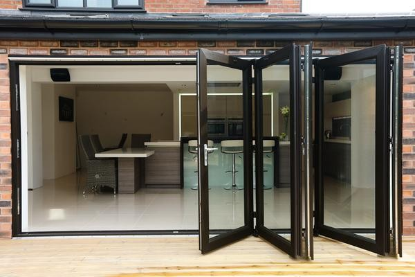 Give a lavish look to your home-bi-folding doors