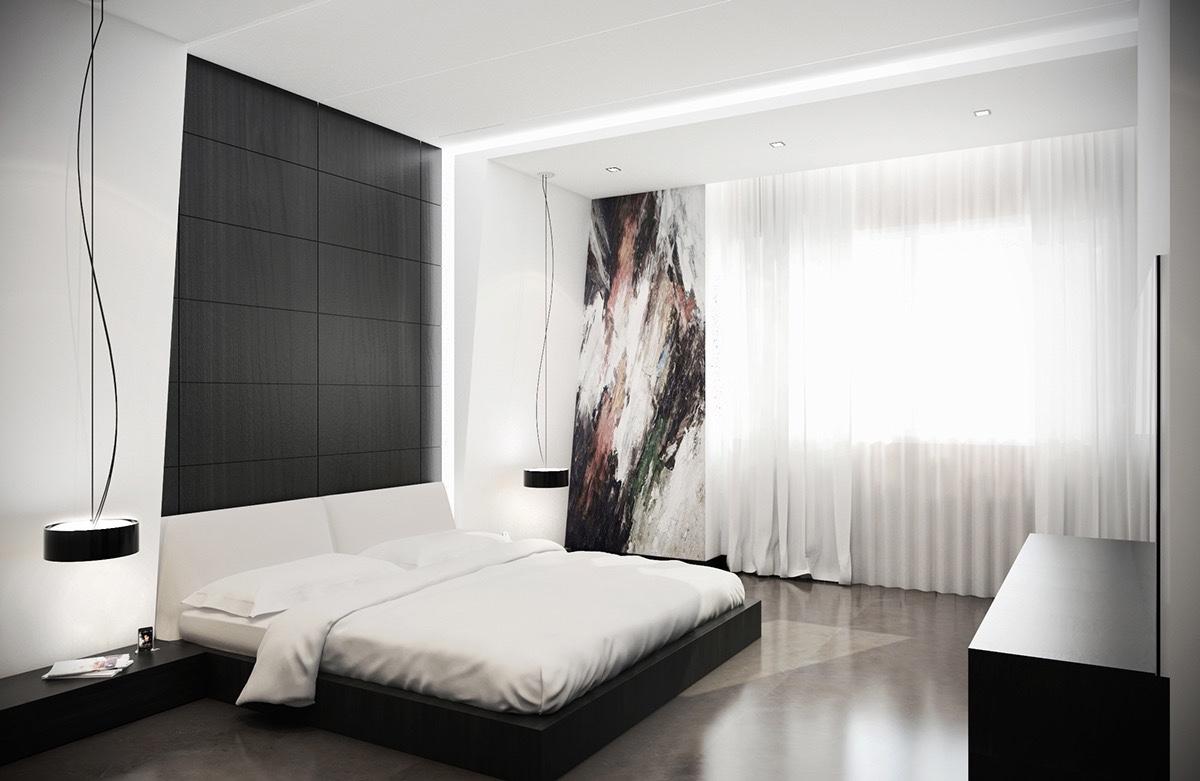 black and white bedroom 20 ... PKRDQJH