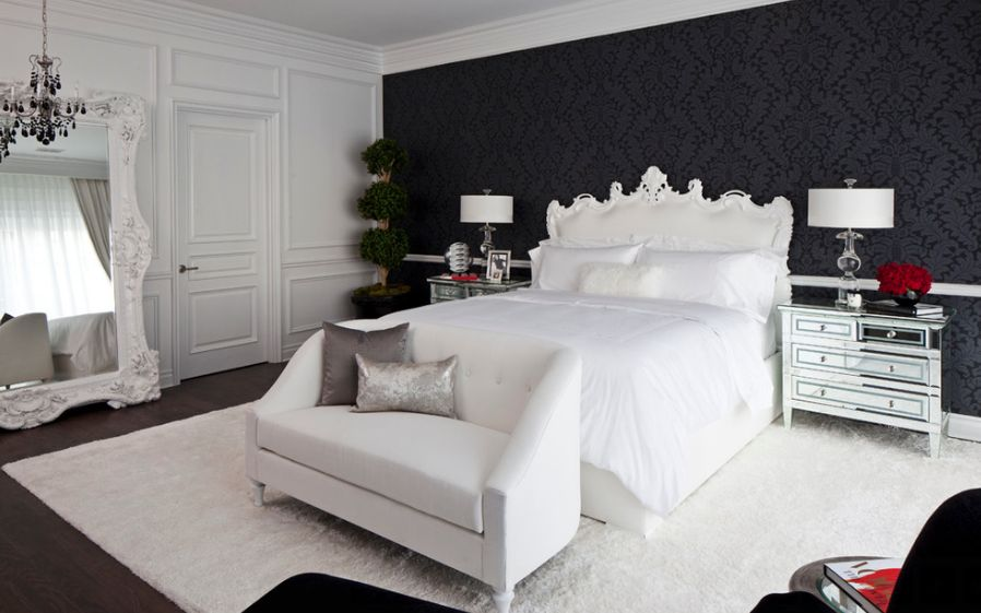 black and white bedroom 35 timeless black and white bedrooms that know how to stand out BPNOQQU