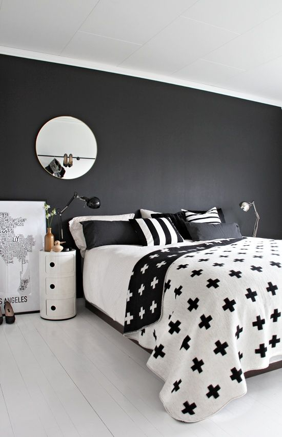 black and white bedroom 35 timeless black and white bedrooms that know how to stand out QFCJPJZ