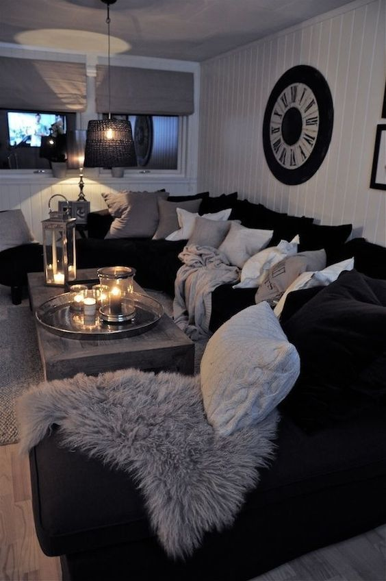 black and white living room best 25+ black living rooms ideas on pinterest SSRGUUU