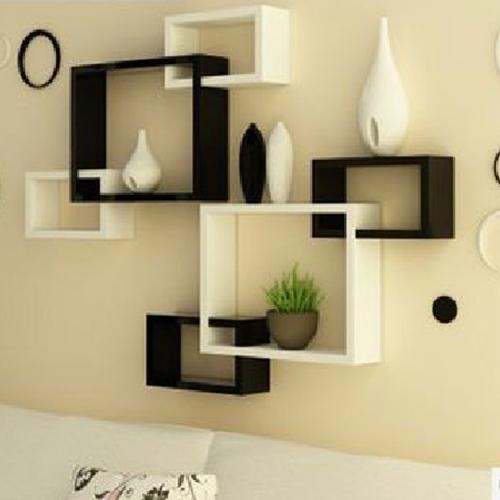 black and white wall shelves LTSHUKD