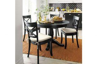 black dining table ... avalon 45 RJJQHXM