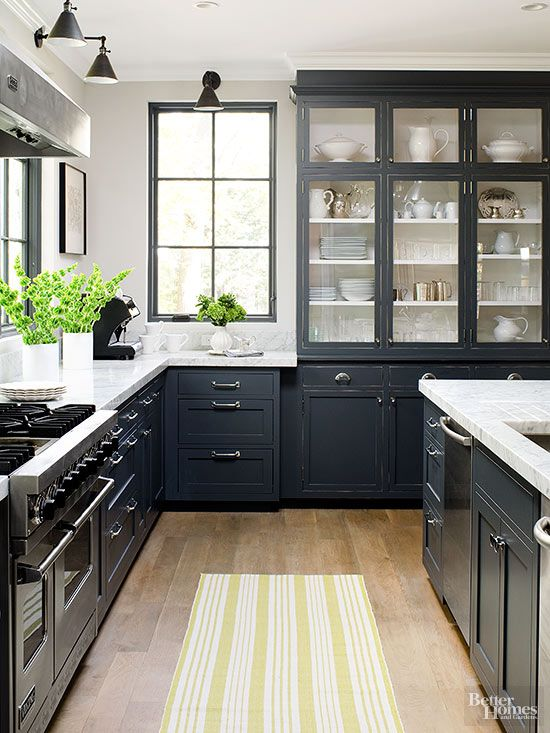 black kitchen cabinets 20 remodeling ideas youu0027ll wish youu0027d thought ... SYRLPGT
