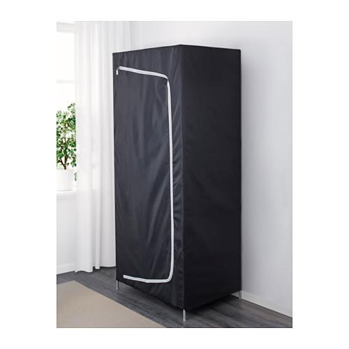 black wardrobe breim wardrobe - black - ikea BHWAQMJ