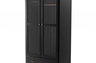 black wardrobe ikea undredal wardrobe EFHIWKY