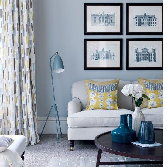 blue living room 69 fabulous gray living room designs to inspire you JORLFQM