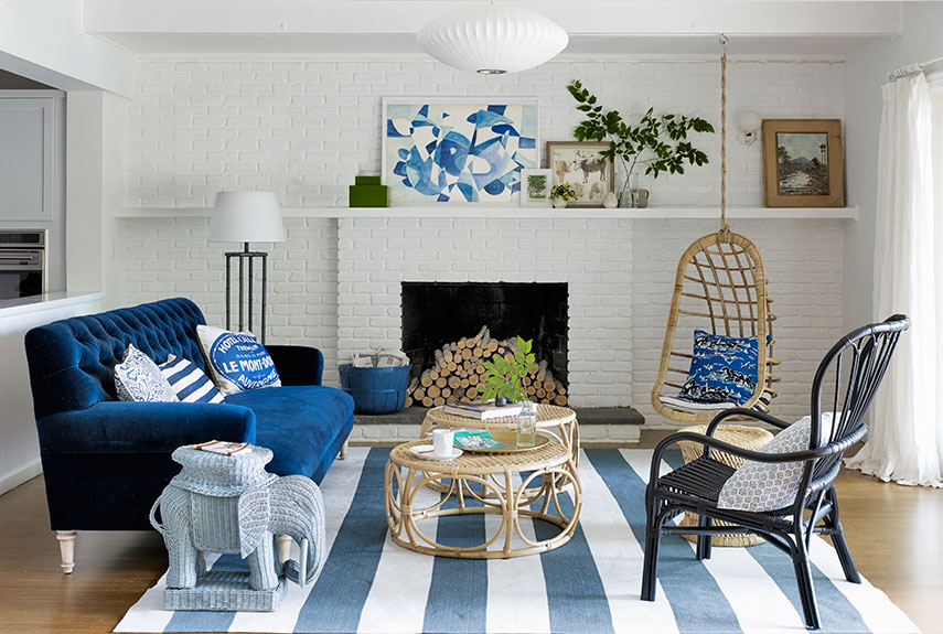 Get your own trending blue living room ideas