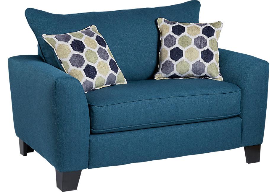 bonita springs blue chair - chairs (blue) FIOQWET