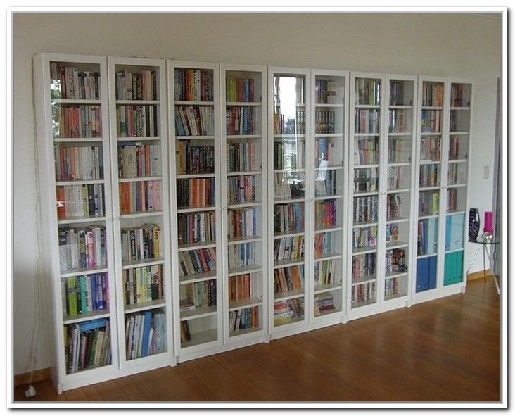 bookcases with glass doors bookshelves with glass doors: appealing awesome ikea billy bookcase with glass  doors OWLJDDO