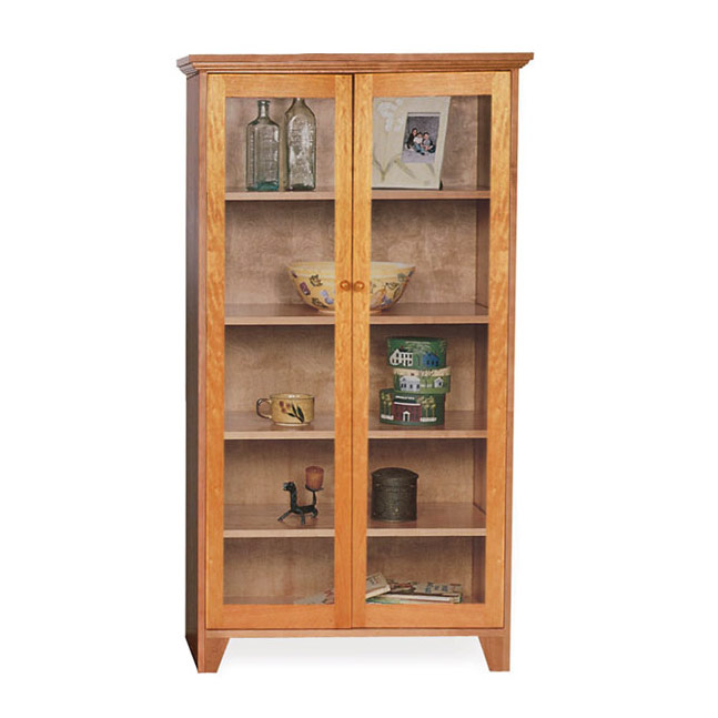 bookcases with glass doors custom shaker bookcase full glass doors BCTDPLB