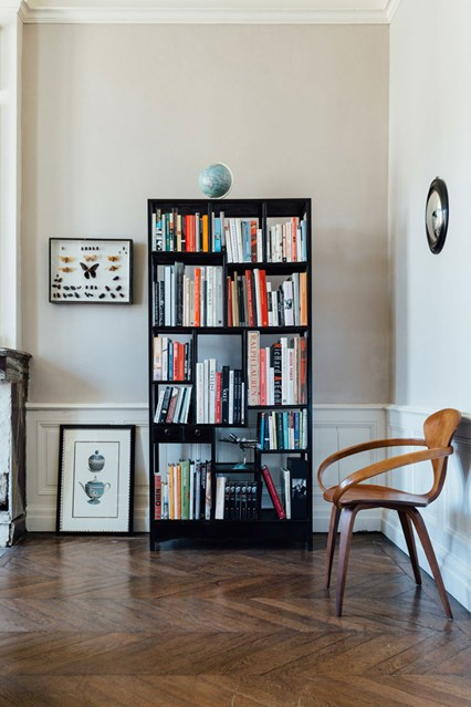 bookshelf ideas simple black freestanding bookshelf INMPTAA