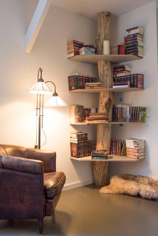 bookshelf ideas whether youu0027ve got a lot of books or you just appreciate unique design,. OEKGEYH