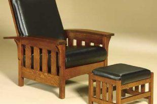bow arm slat morris chair in oak HPYTIIM