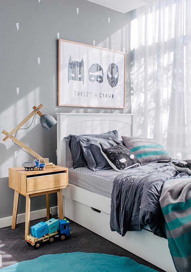 Reality of boys bedroom