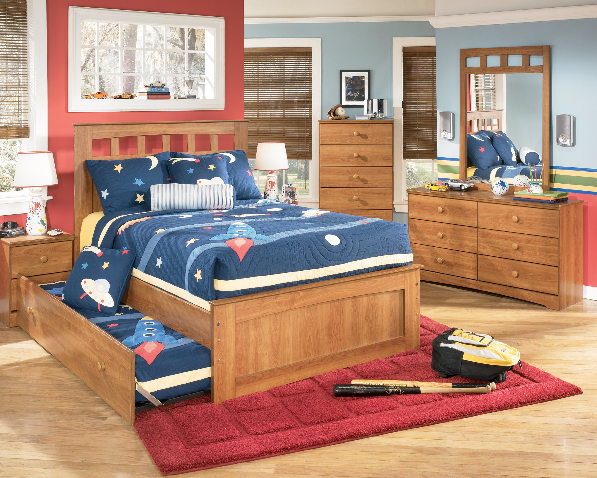 Boys bedroom sets: the great gift for your young boy