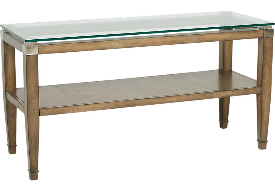 braden brown sofa table SZKWAKF