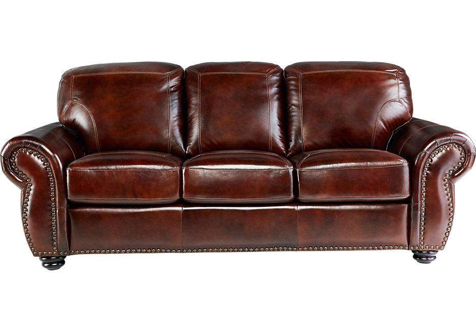 brockett brown leather sofa JMRDAMI