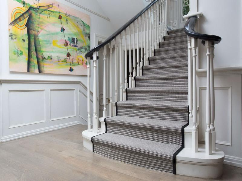 How to decorate your stairs with carpet runners