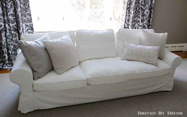 chaise cushion on ektorp sofa UZFBAFP