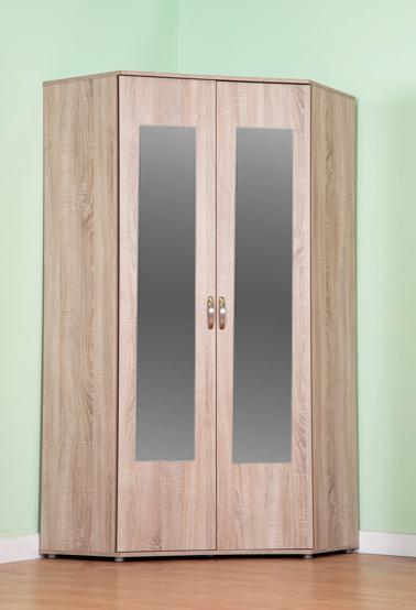 chester standard corner wardrobe with sonoma light oak option m1170 WOOYQXF
