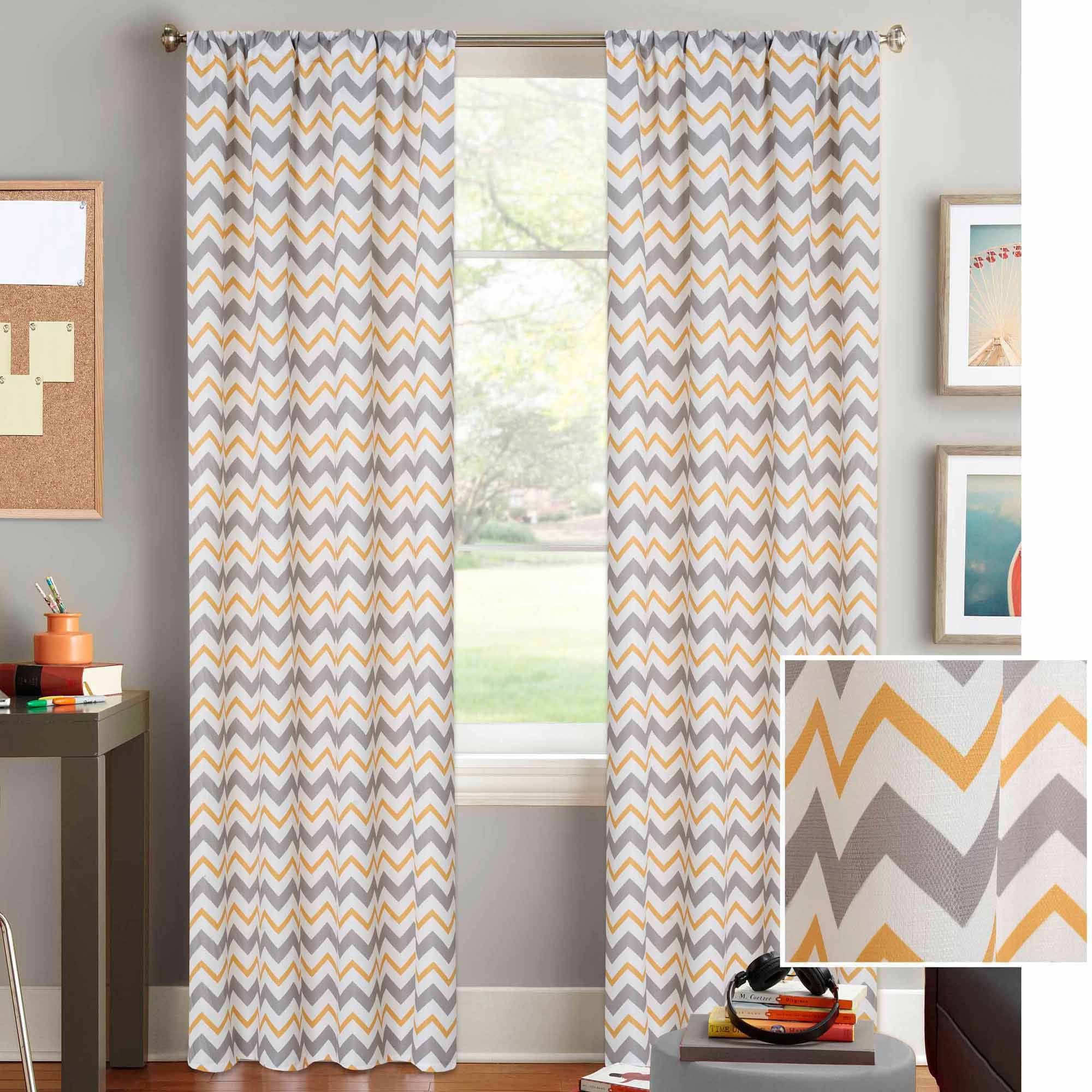 3 things you must consider when buying your chevron curtains