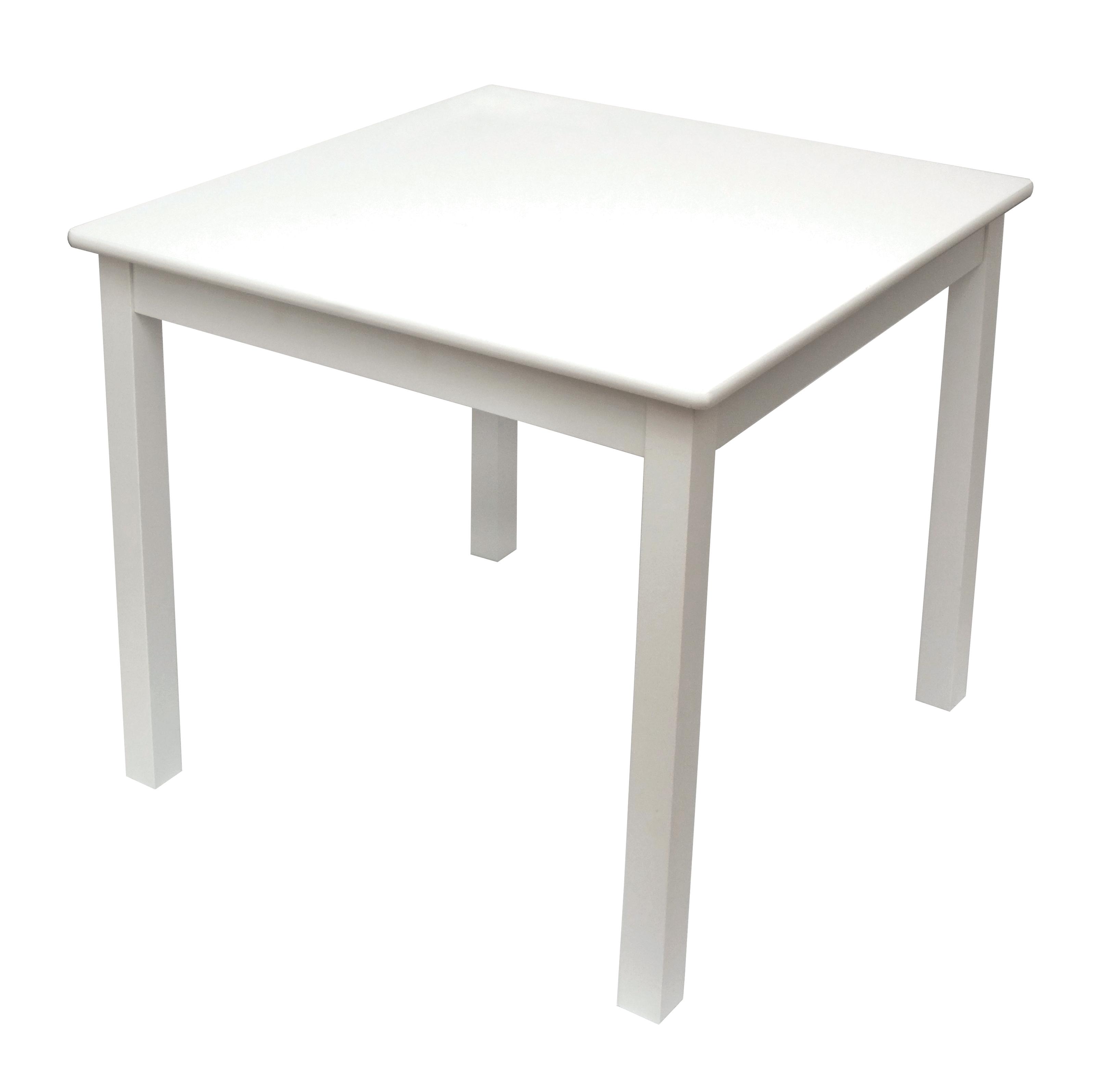 childu0027s white table | lipper international tables OUYYOYN