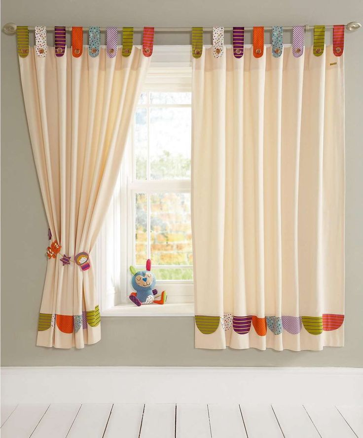 childrens curtains colourful tab top curtains for kids bedroom and nursery PXYOIMK