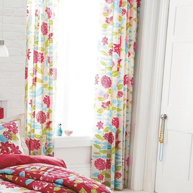 childrens curtains flower-themed curtains for a kidu0027s room RYWUCKI