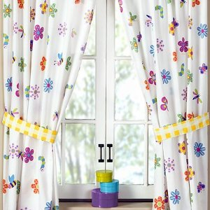 childrens curtains they are too busy enjoying the colors. you need to choose a material TAOKGBM