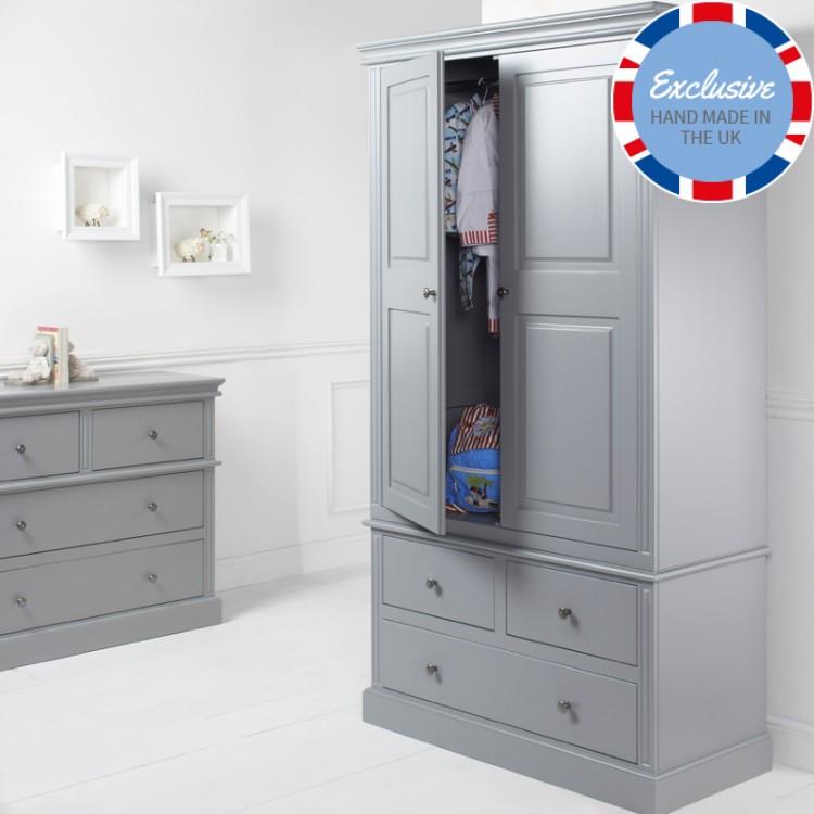 childrens wardrobes archie 2 door 3 drawer wardrobe RVZPRAY
