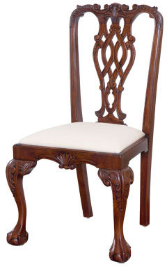 chippendale furniture chippendale-style dining chair AFFDIYM