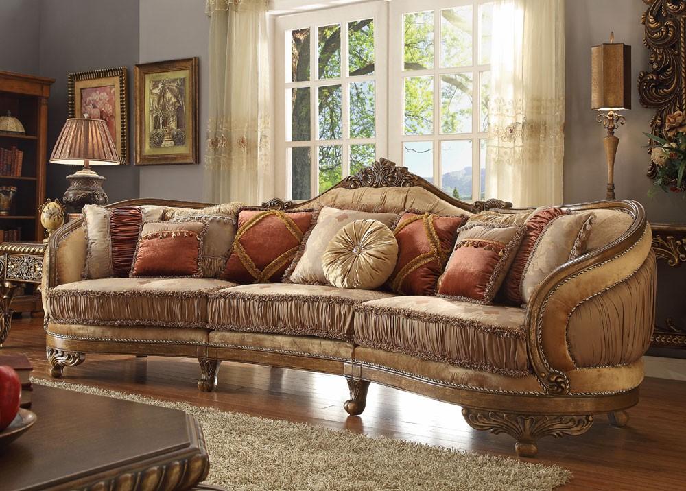 cipriano victorian style oversized sofa MAHPQSQ