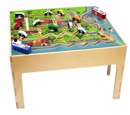 city transportation kids play table-kids play furniture-waiting room toys LYWJFTX