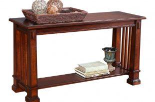 clairfield tobacco sofa table LVIBPOZ