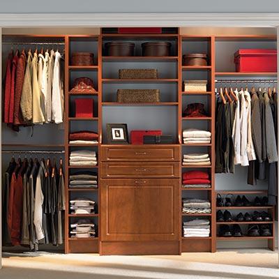closet organizers wood closet systems CPZEMSP