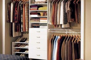 closet storage ideas best 25+ small closet organization ideas on pinterest BEFQRWZ
