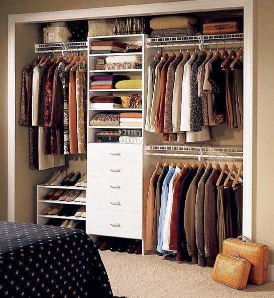 Apply these techniques to improve closet storage
