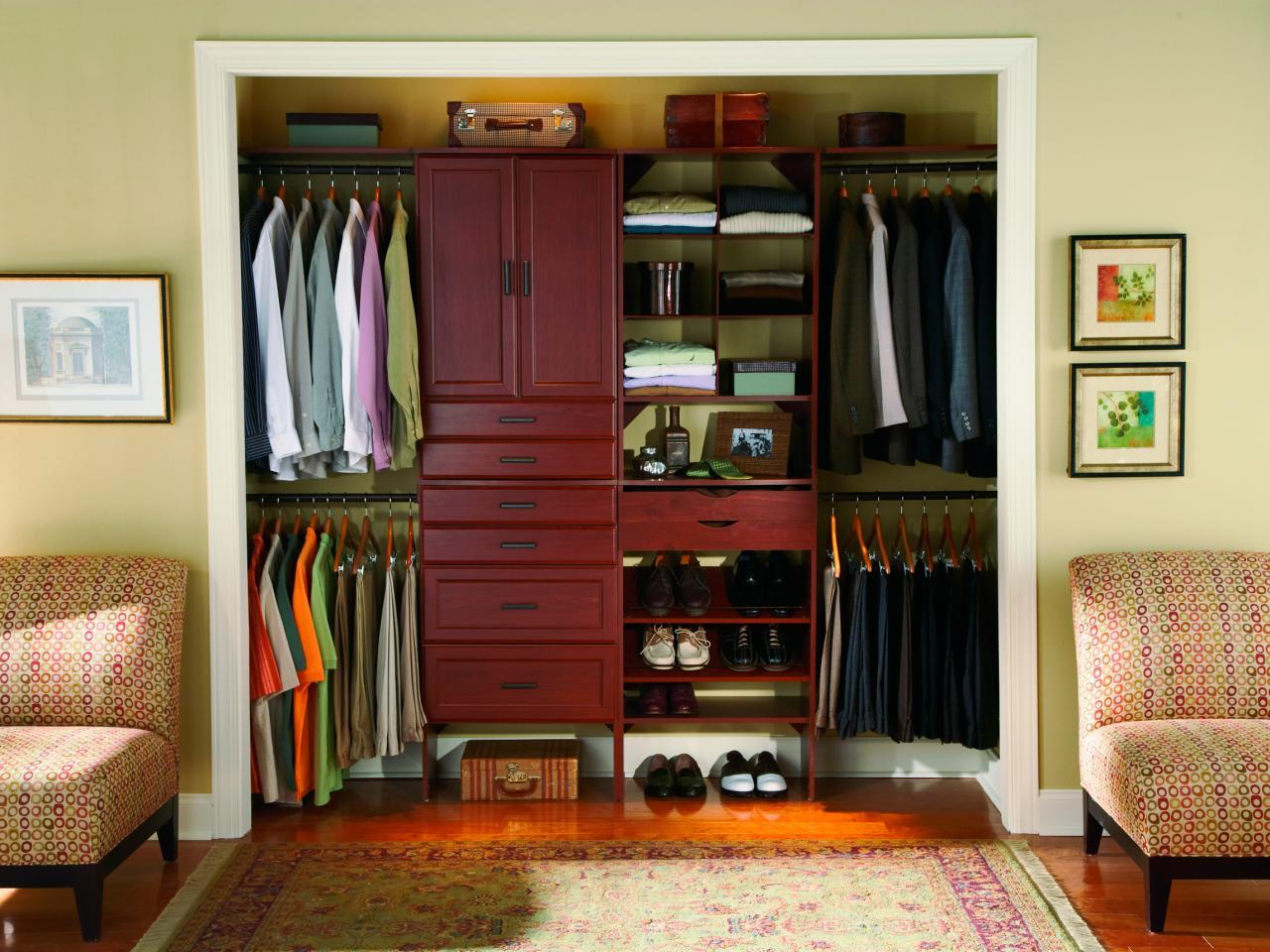 closet storage ideas keep style in mind CBXCFLN