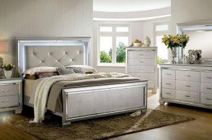 cm7979sv silver bedroom furniture w/crocodile ... RGSESQQ