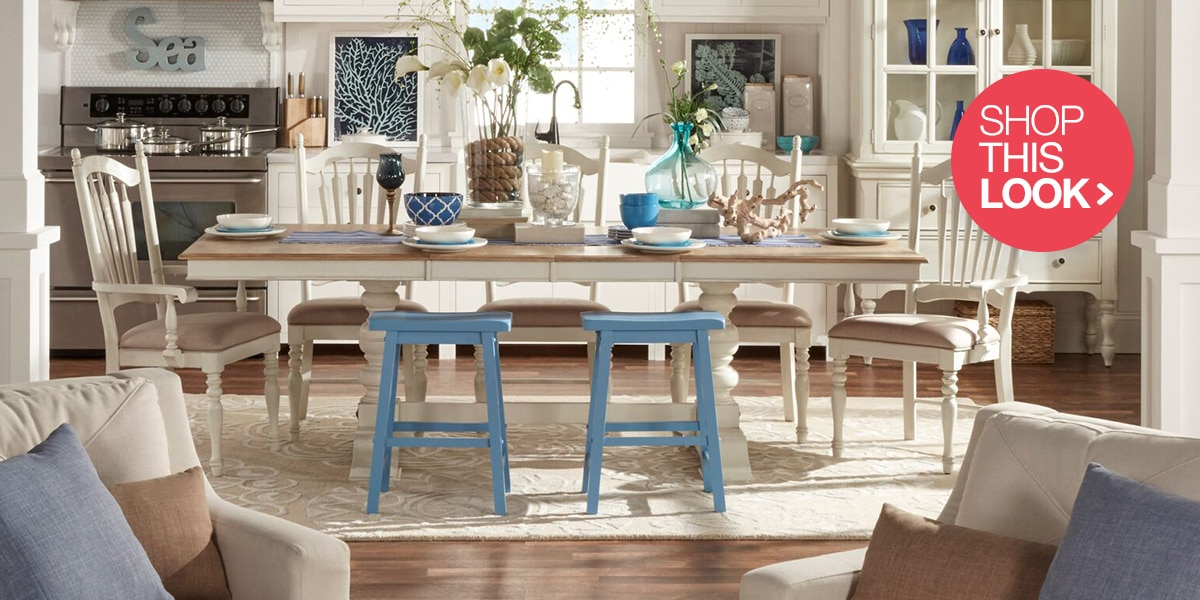 coastal dining room coastal furniture and decor ideas . CWEQOBY