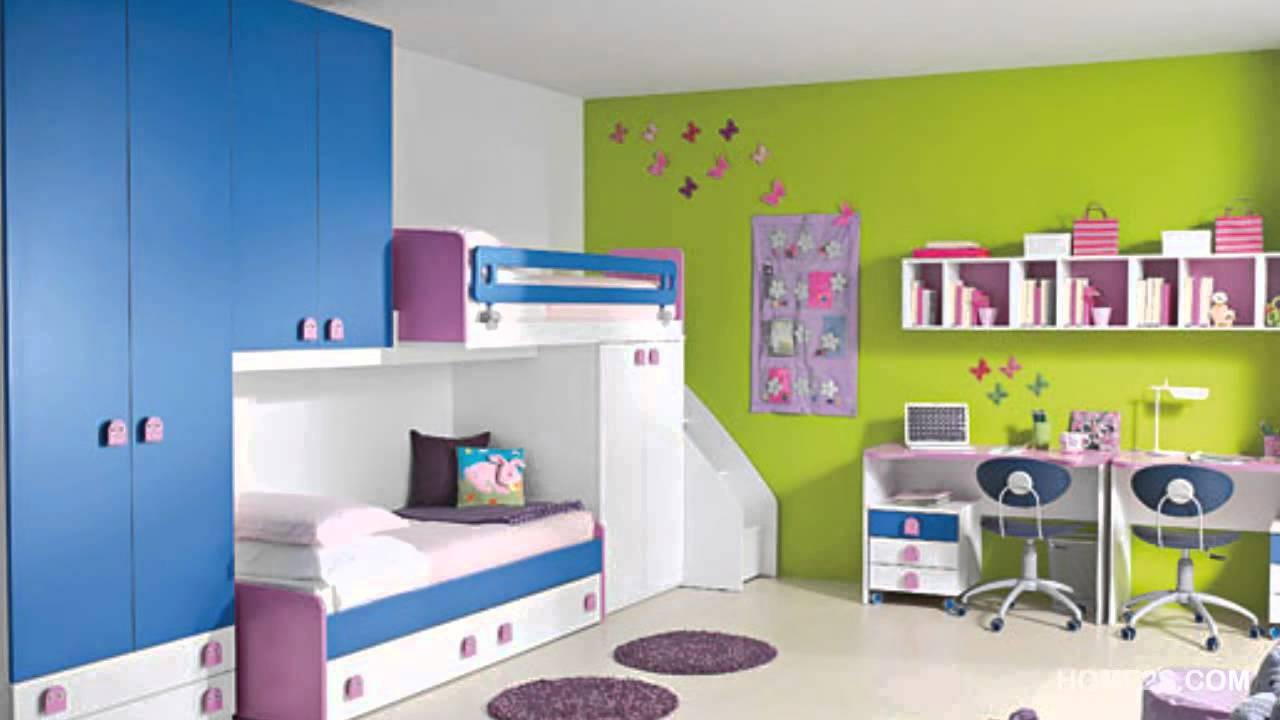 colorful kids room decor ideas 02 - youtube XKBOGDW