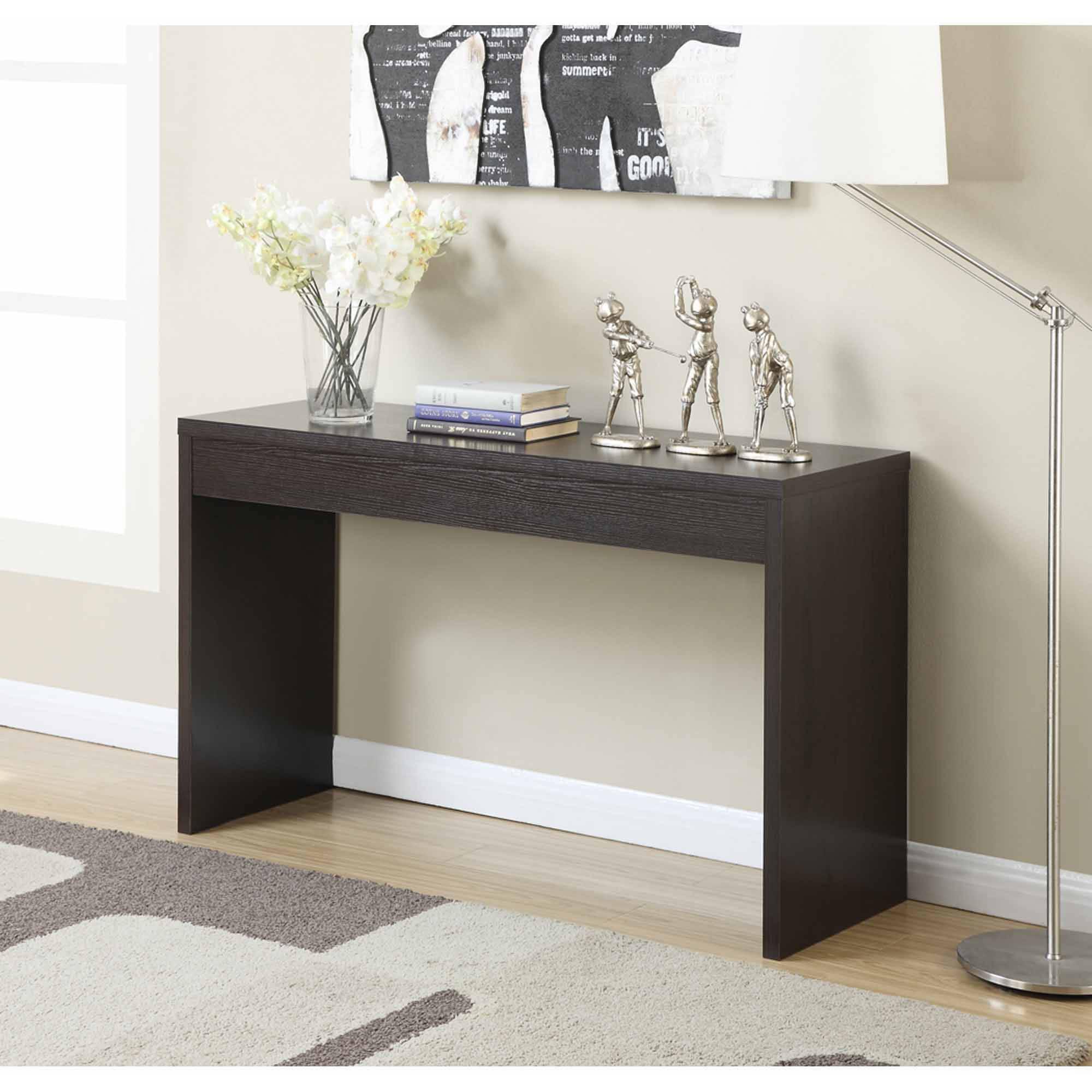 console tables convenience concepts northfield hallway console table, mutilple colors -  walmart.com DUUXXAK