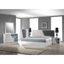 contemporary bedroom sets murakami platform 5 piece bedroom set RLVVZLA