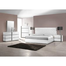 contemporary bedroom sets orrstown platform 5 piece bedroom set FIUWNHY