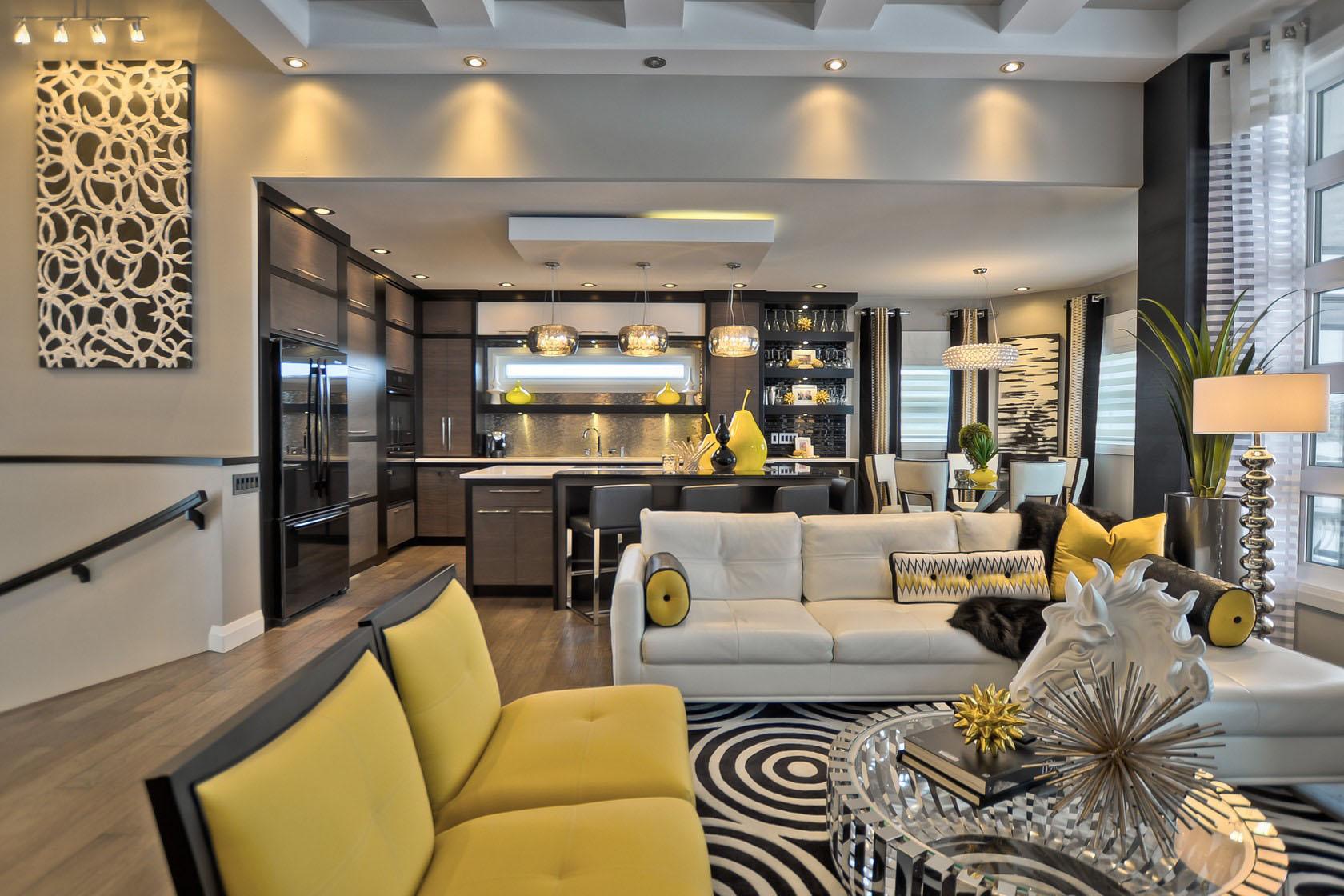 Contemporary decor contemporary custom dream home in saskatoon with inspiring. elegant contemporary  decor OTDPPCM