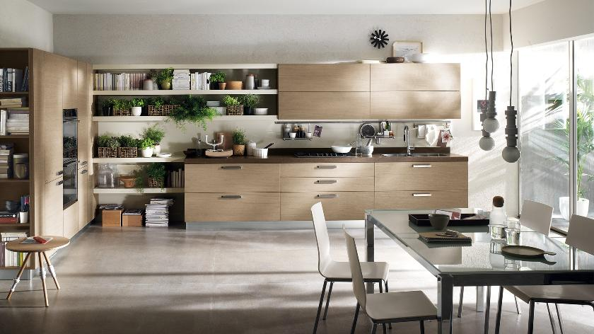 contemporary kitchens for large and small spaces DFABFWJ