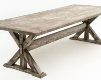 contemporary rustic dining table design #3 VCIRUCY