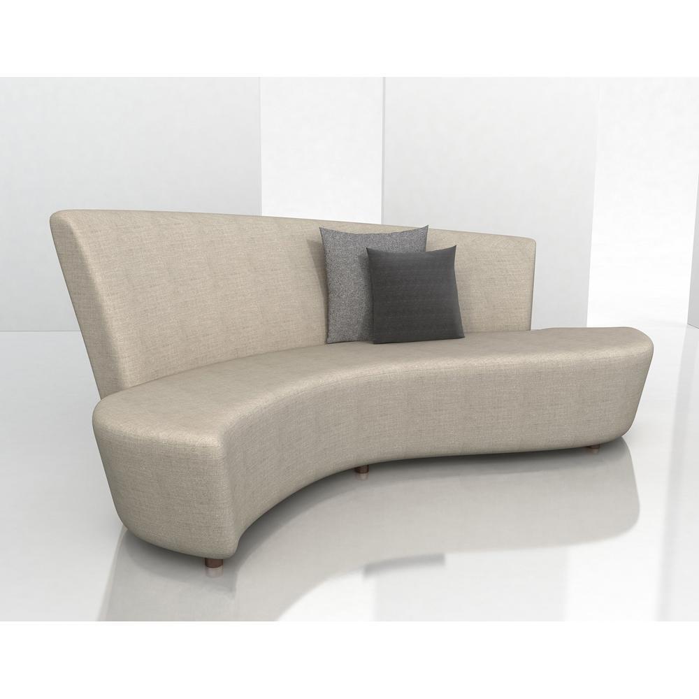 contemporary sofa art deco curved sofa MPZYWXO